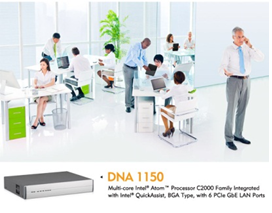 NEXCOM has released a desktop network appliance DNA 1150